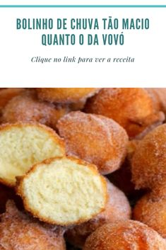 Easy Donut Recipe, Donut Recipes, Brunch Recipes, Sweet Recipes, Cake Recipes, Dessert Recipes, Desserts, Easy Baking Recipes, Cooking Recipes