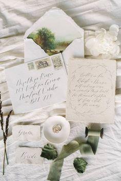 Old World Charm at a Cape Town Manor House Elegant Wedding Invitations, Wedding Stationery, Old World Wedding, Wedding Calligraphy, Beautiful Calligraphy, Old World Charm, Wedding Cards, Wedding Paper, Wedding Stuff