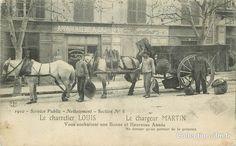 Service Public - Nettoiement - Section n°8 - Le Chargeur Martin et le Charretier Louis vous souhaitent une Bonne et Heueruse Année