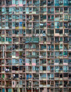 Architecture of Density: Michael Wolf lenses Hong Kong's teeming urban sprawl Wolf Photography, Urban Photography, Artistic Photography, Landscape Photography, Architectural Photography, Photography Ideas, Hong Kong Architecture, Architecture Design, Urbane Fotografie