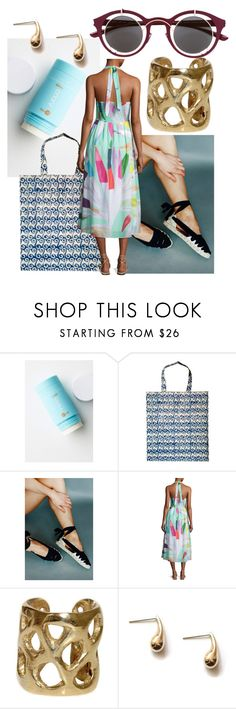 """Beautiful summer dress"" by sustainableoutfits ❤ liked on Polyvore featuring COOLA Suncare, Mara Hoffman and Mykita"