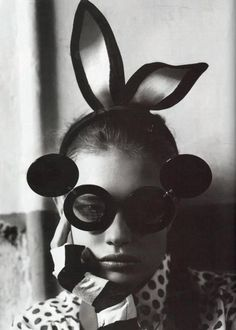 5cb9e3985ac0 bunny ears and fabulous linda glasses Natalia Vodianova