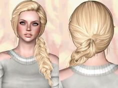 Newsea`s Joice hairstyle retextured by Chantel Sims for Sims 3 - Sims Hairs - http://simshairs.com/newseas-joice-hairstyle-retextured-by-chantel-sims/