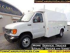 2003 Ford E350 KUV Service Utility Body Service Truck Utility ...