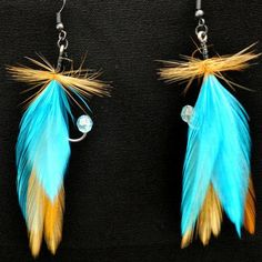 Fishing Lures Earrings by Loyd's Lures. Click though for website.