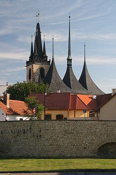 Louny - Chrám sv. Mikuláše Czech Republic, Prague, Landscape, Country, Beautiful, Scenery, Rural Area, Landscape Paintings, Country Music