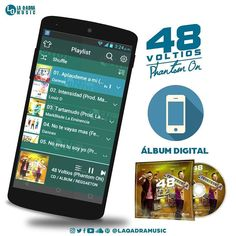 Via Instagram LAEMINENCIAreal Ya lo escuchaste? #48Voltios es gratis... LAQADRAMUSIC.COM/48voltios  Sigue el enlace en mi perfil @laqadramusic #Cd #Album #MusicaUrbana #Reggaeton #Moombahton #Dembow #Beats #mp3 #Descarga #Instrumental #LaEminencia #tw