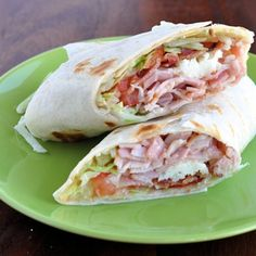 The Ultimate Turkey Bacon Club Sandwich Wrap Recipe
