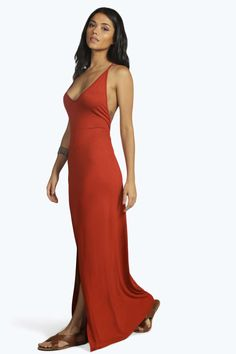 Becca Embroided Back Maxi Dress alternative image Long Sleeve Maxi, Lace  Detail, Becca, 080805160b35