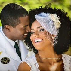 Caption this one ladies.... #NaturalHairBride thanks for sharing negrasnoaltar