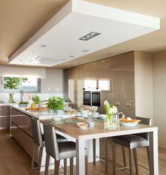 Cocinar con vistas · ElMueble.com · Cocinas y baños
