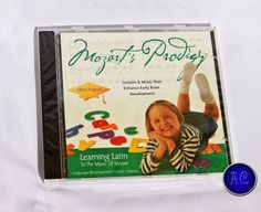 Mozart's Prodigy Classical Learning Series is the only Mozart product on the market that educates as well as entertains. LEARNING LATIN TO MOZART effortlessly teaches children about the beginnings of language development, Latin and words by combining the beautiful sounds of Mozart with a comforting teaching voice. | eBay!