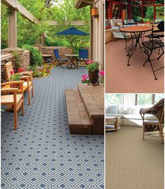Indoor Outdoor Carpet Tile from Myers Carpet in Dalton  Ga   Office     15 Best Custom Size Outdoor Rugs