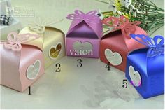 Wholesale Favor Boxes - Buy NEW Pearl Paper Core Butterfly Candy Wedding Bridal Favors Candy Party Boxes Favor, $0.34   DHgate