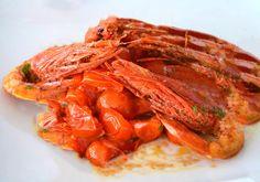 Gamberi con pomodori #ricettedisardegna #sardegna #sardinia #food #recipe #cucinasarda