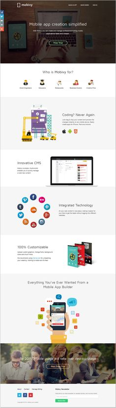 Awesome #clean #modern looking #flat #Web #design #webdesign