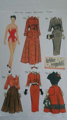 Debbie Reynolds 1955-56
