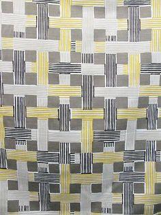ILLUSION WEAVE CITRINE #black-gray-silver #plaid-fabrics #print-fabrics #yellow-gold