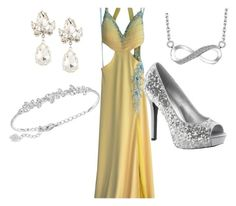 """""""Bell of the ball"""" by kyliesue22 on Polyvore featuring Jasz, Fragments and Swarovski"""
