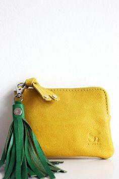Mini Yellow & Tassel