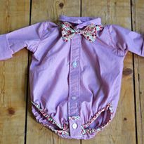 Summer Sewing ~ The Shirt Onesie ... Looking forward to sewing for my lil man as the wedding season comes up this spring!
