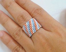 Picture of Peyote Beaded Ring