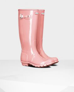 Shop Women's Hunter Pink size 7 Winter & Rain Boots at a discounted price  at Poshmark.