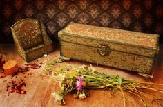 Как превратить невзрачные деревянные заготовки, коробочки иящички внастоящие произведения декоративно-прикладного искусства, украшение интерьера инезабываемые подарки? Помочь вэтом может техника …