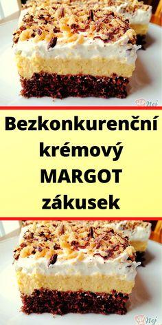 Sweet Desserts, Sweet Recipes, Cake Recipes, Slovak Recipes, Desert Recipes, Cheesecakes, No Bake Cake, Sweet Tooth, Deserts