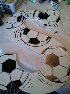 soccer craft!!!  I like it!!!