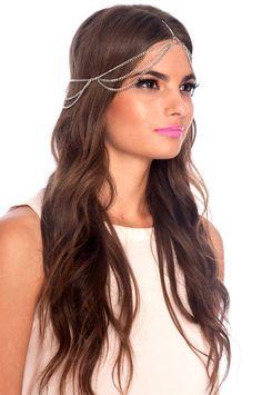 cleopatra head chain $12