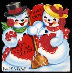 There's Snow One For Me But You Valentine