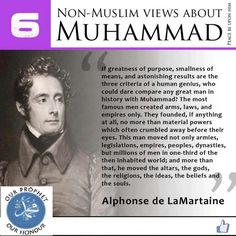 Non Muslim views about Islam, prophet Muhammad (pbuh) Cogito Ergo Sum, Le Prophete Mohamed, Prophet Muhammad Quotes, Quran Quotes, Qoutes, Photo Grid, All About Islam, Peace Be Upon Him, Islamic World
