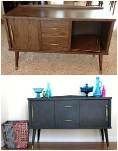 25 Beautiful Furniture Makeover Ideas Using Paint New Simple DIY Furniture Makeover and Transformation The post 25 Beautiful Furniture Makeover Ideas Using Paint appeared first on Lori& Decoration Lab. Home Diy, Furniture Makeover, Refurbished Furniture, Diy Furniture, Furniture Renovation, Furniture, Home Furniture, Home Decor, Beautiful Furniture