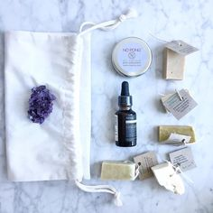 Zero Waste Gift Giving: Day 2: This year we tried a family Kris Kringle instead of individual gifts and it was a nice change     This is a little self- care package for my sister designed to make #zerowaste concepts a bit more accessible (and not weird and hippy)- amethyst crystal as a sleep aid (held every crystal in the shop until I found the one that felt exactly right); @aesopskincare hair serum (in glass but still a mainstream brand); @nopong.deodorant (because keepcups are so last year…