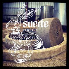 Suerte Tequila - 100% Tahona processed #pure #authentic #traditional #suerte #tequila #followtherabbit