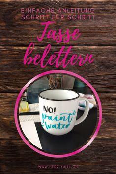 Letter Lovers: frau_annika zu Gast im Lettering Interview Mugs, Tableware, Dinnerware, Cups, Dishes, Mug, Tumbler