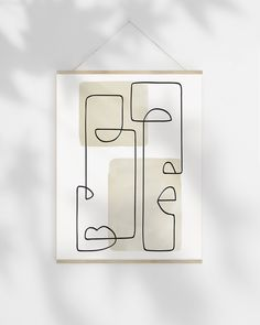 Abstract Face Art Printable, Line Drawing Art Geometric Abstract Print, Beige Wa. Abstract Face Art Printable, Line Drawing Art Geometric Abstract Print, Beige Wall Decor Bedroom Ar Art Abstrait Ligne, Abstract Face Art, Art Drawings, Drawing Art, Face Line Drawing, Art Visage, Bedroom Art, Bedroom Drawing, Bedroom Kids