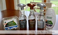 Natural Products from the Seventh Generation Line, including: Wood, Granite/Stone, Stainless Steel Specialty Cleaners, Hand Care Dish Liquid, Laundry Detergent Packs 30 count | So Easy Being Green | $28.50 | ends November 12 , 2012 | http://soeasybeinggreen-blog.com/2012/11/spring-cleaning-in-autumn-with-seventh-generation-giveaway/