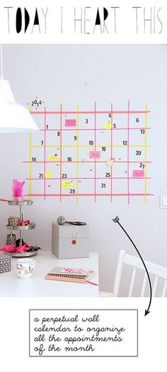 today2 | Flickr - Photo Sharing! Calendar with washi tape