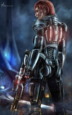 FemShepard - Mass Effect 3 by *Hidrico on deviantART