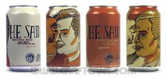 He Said cans from 21st Amendment and Elysian Brewing...