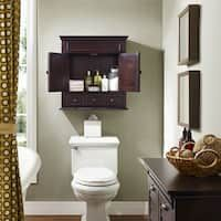 Buy Bathroom Cabinets & Storage Online at Overstock | Our Best Bathroom Furniture Deals Bathroom Wall Cabinets, Wood Cabinets, Bathroom Furniture, Bathroom Storage, Bathroom Ideas, Wall Storage, Bathroom Faucets, Wooden Furniture, Large Storage Cabinets