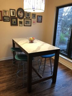 Dining Room, Dining Table, Kitchen Furniture, Seaside, Counter, Modern, Solid Wood, Tables, Cottage