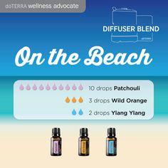 doTERRA Essential Oils On the Beach Diffuser Blend