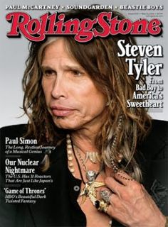 Steven Tyler's On the cover of the Rolling Stone!
