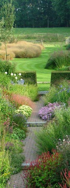 Architecture des Jardins et du Paysage. Zo mooi.
