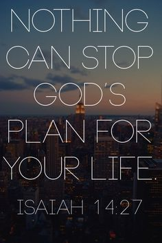 God's Plans Are Greater Than Mines!