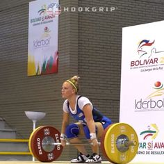 100K opener at Pan Ams in June! Repost @hookgripusa: Olympian Morghan King (-53kg, USA) opening her clean and jerk at 100kg/220lb at the 2016 Pan Ams, where she competed as a light 53. @kingmorghan #weightlifting #olympicweightlifting #hookgrip