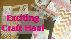 Mothers Day Craft Haul DIY Stamp Positioning Tool EXCITING NEWSHaul